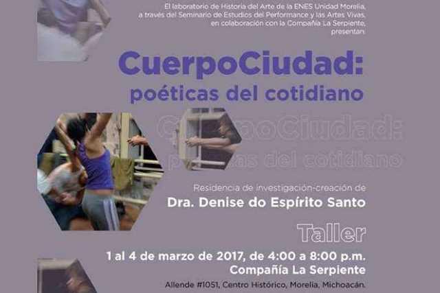 CuerpoCiudad-taller-UNAM-Morelia