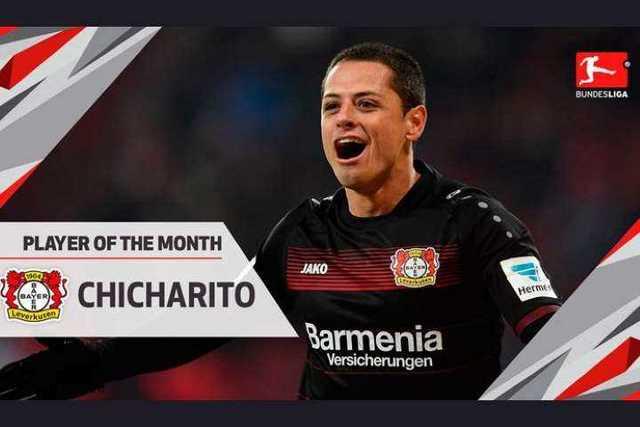 Javier-Chicharito-Hernandez-jugador-del-mes