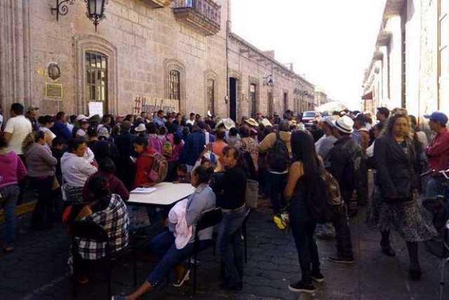 manifestacion-Ayuntamiento-Morelia