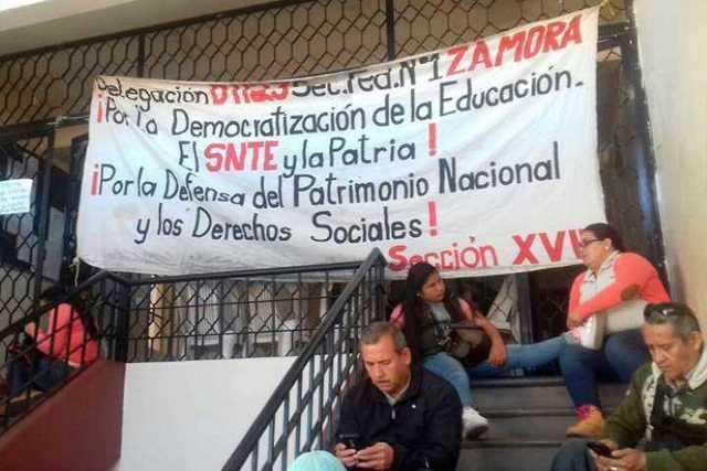 manifestacion-CNTE-Michoacan