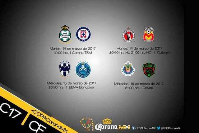 horarios-cuartos-de-final-Copa-MX-2017