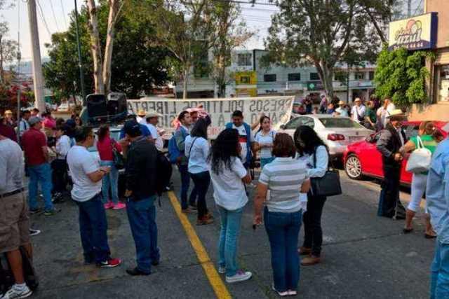 manifestacion-CNTE-PGR-Morelia-2
