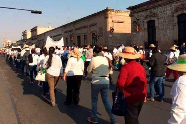 marcha-centro-Morelia