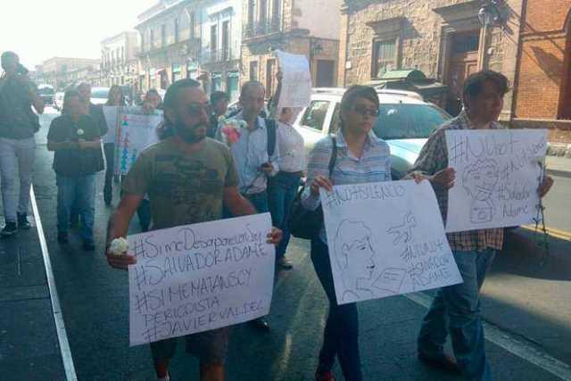 protestan-periodistas-Morelia-2
