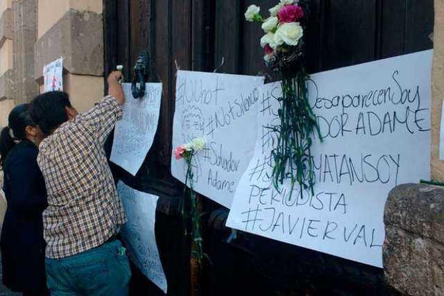 protestan-periodistas-Morelia