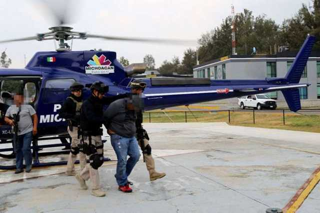 detenido PGJ helicoptero