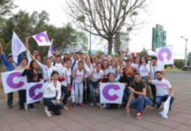 Luisa Maria Calderon Cocoa campaña