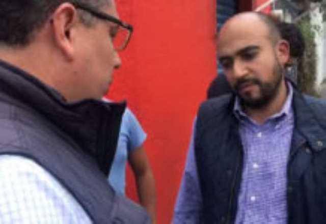 Eduardo Garcia Chavira y Antonio Plaza Urbina