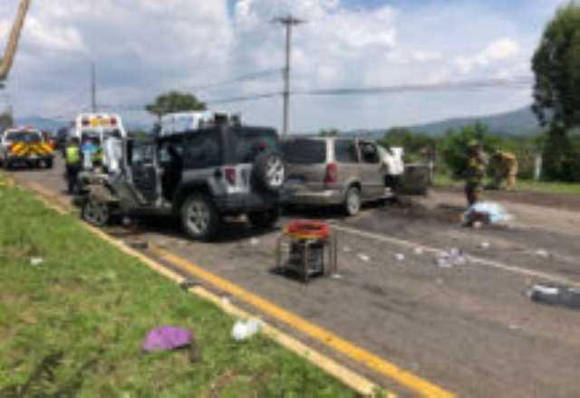 accidente salida Quiroga