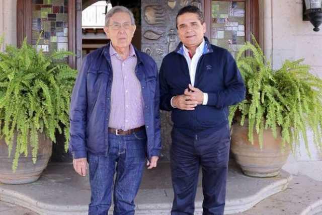 Cuauhtemoc Cardenas Solorzano y Silvano Aureoles