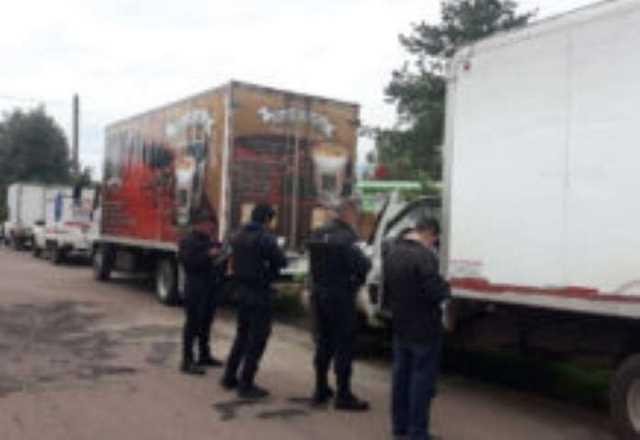policia vehiculos recuperados normalistas