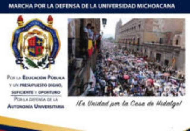Marcha UMSNH