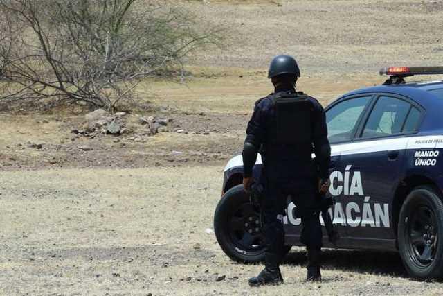 Policia Michoacan operativo
