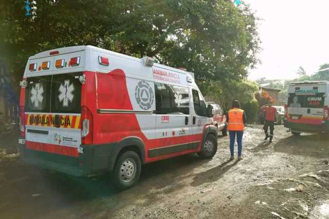 ambulancia Proteccion Civil CRUM