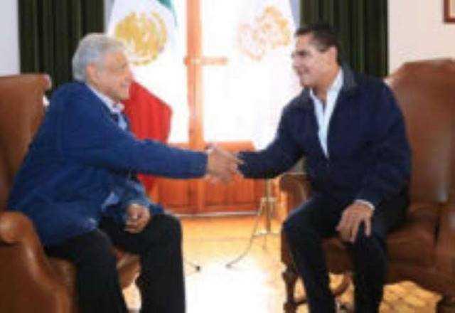AMLO Andres Manuel Lopez Obrador y Silvano Aureoles 3