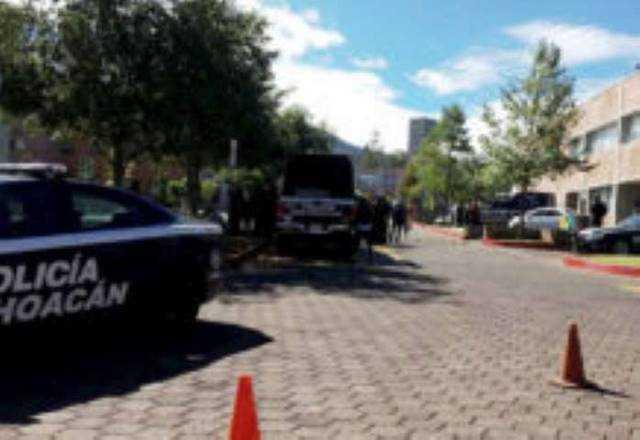 Policia Michoacan UNAM Morelia