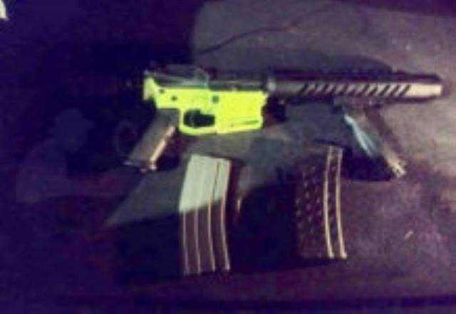 arma de fuego fusil