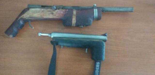 arma decomisada