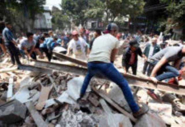 escombro sismo CDMX 19S