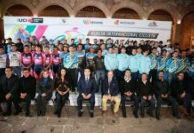 Silvano Aureoles Vuelta Internacional Ciclista