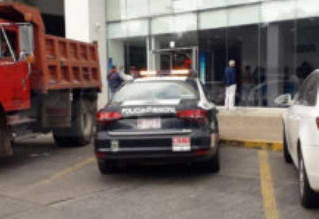 Bancomer banco Policia Municipal Morelia