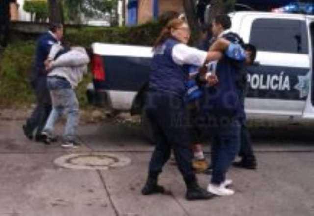 detenidos Morelia