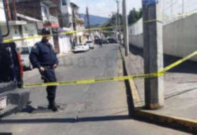 homicidio no pasar plaza Agora Uruapan