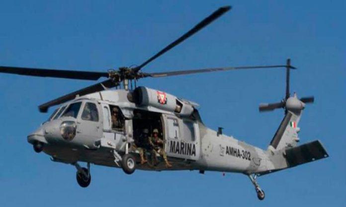 helicoptero Marina
