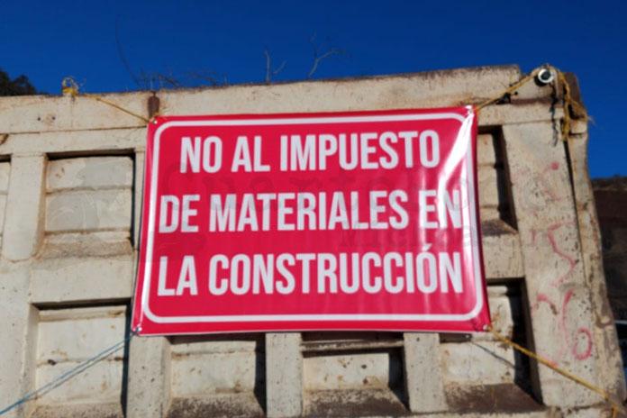 protesta constructores Morelia