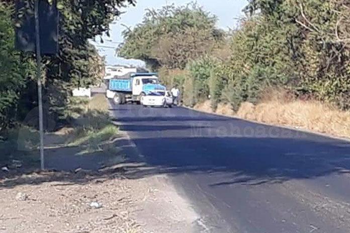 bloqueo Apatzingán-Aguililla