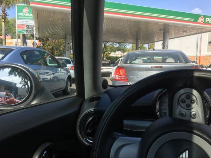 desabasto gasolina filas