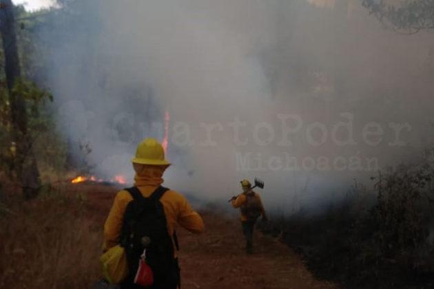 Parque Nacional incendio